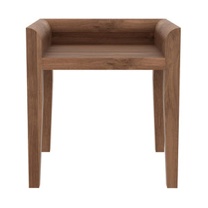 Teak Cuba Stool - Hausful - Modern Furniture, Lighting, Rugs and Accessories