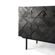 Load image into Gallery viewer, Teak Graphic Chest of Drawers - Hausful - Modern Furniture, Lighting, Rugs and Accessories