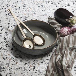 Fein Salad Servers - Hausful - Modern Furniture, Lighting, Rugs and Accessories