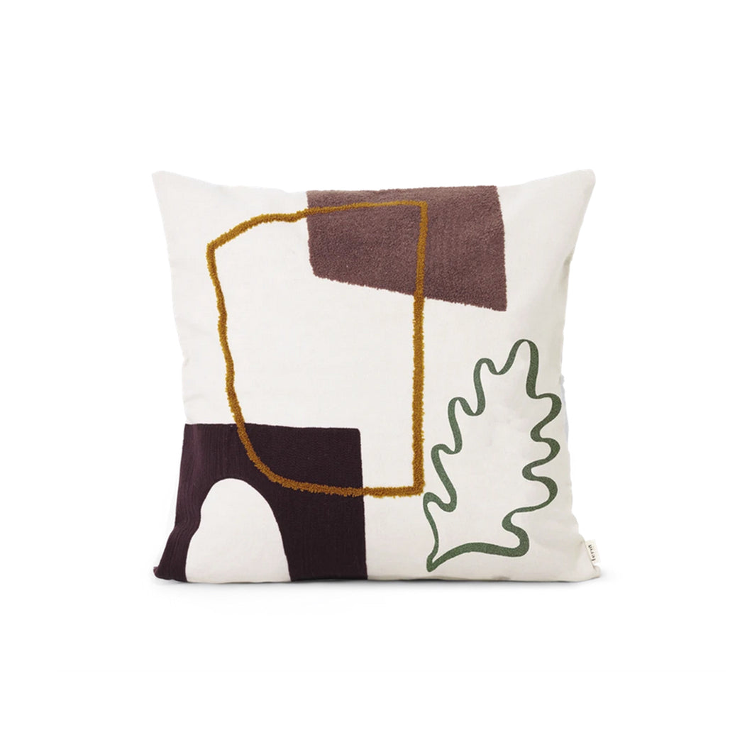 Mirage Cushion - Leaf - Hausful - Modern Furniture, Lighting, Rugs and Accessories