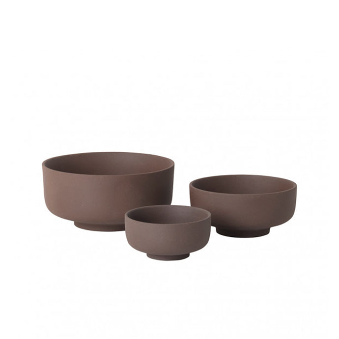 Sekki Bowl Set - Rust - Hausful - Modern Furniture, Lighting, Rugs and Accessories