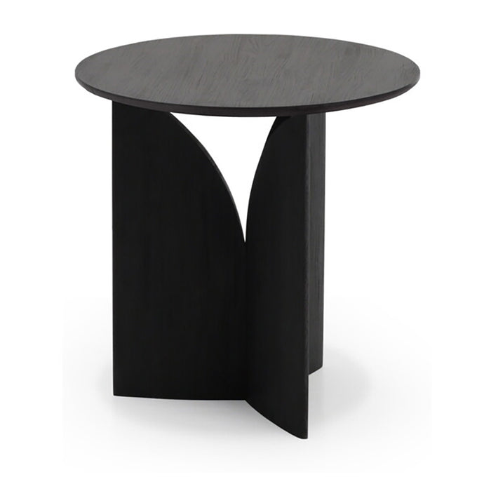 Teak Fin Side Table - Hausful - Modern Furniture, Lighting, Rugs and Accessories