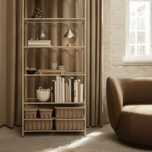 Load image into Gallery viewer, Haze Bookcase - Reeded glass - Hausful - Modern Furniture, Lighting, Rugs and Accessories