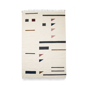 Kelim Triangle Rug - Hausful - Modern Furniture, Lighting, Rugs and Accessories