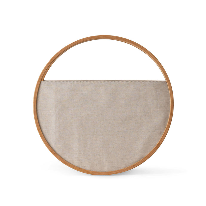 Leo Tote Basket - Hausful - Modern Furniture, Lighting, Rugs and Accessories