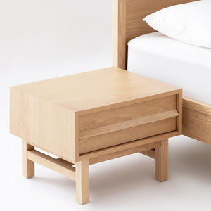 Marcel Nightstand - Oak - Hausful - Modern Furniture, Lighting, Rugs and Accessories