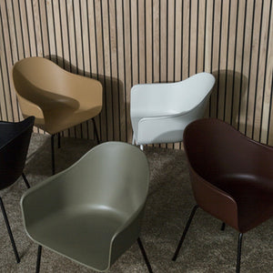 Harbour Chair - Steel Base - Hausful - Modern Furniture, Lighting, Rugs and Accessories