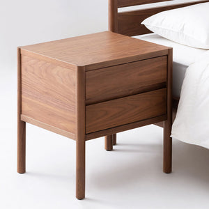 Monarch Two Drawer Nightstand - Hausful - Modern Furniture, Lighting, Rugs and Accessories