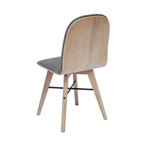 Napoli Fabric Dining Chair - Set of 2 - Hausful - Modern Furniture, Lighting, Rugs and Accessories