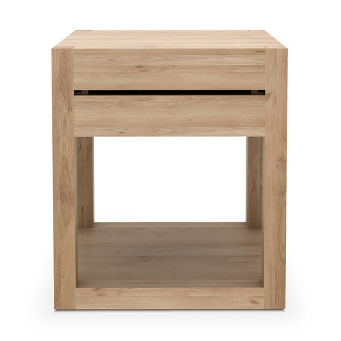 Oak Azur Bedside Table - Hausful - Modern Furniture, Lighting, Rugs and Accessories
