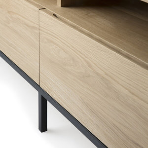 Oak Ligna TV Cupboard - Hausful - Modern Furniture, Lighting, Rugs and Accessories