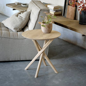 Oak Mikado Side Table - Hausful - Modern Furniture, Lighting, Rugs and Accessories