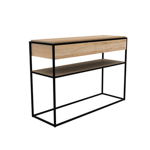 Oak Monolit Console - Hausful - Modern Furniture, Lighting, Rugs and Accessories