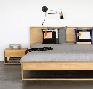 Nordic II Bed - Hausful - Modern Furniture, Lighting, Rugs and Accessories