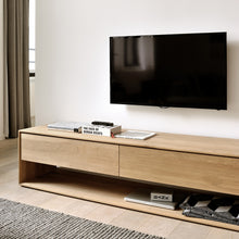 "Load image into Gallery viewer, Oak Nordic TV Cupboard - 71"" - Hausful - Modern Furniture, Lighting, Rugs and Accessories"