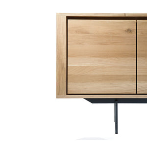 "Oak Shadow Sideboard with Legs - 88"" - Hausful - Modern Furniture, Lighting, Rugs and Accessories"