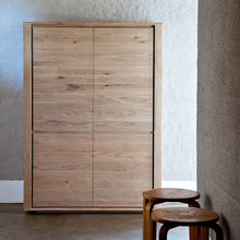 Load image into Gallery viewer, Oak Shadow Storage Cupboard - Hausful - Modern Furniture, Lighting, Rugs and Accessories