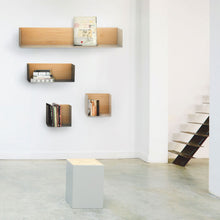 Load image into Gallery viewer, Oak U Shelf - M - Black - Hausful - Modern Furniture, Lighting, Rugs and Accessories