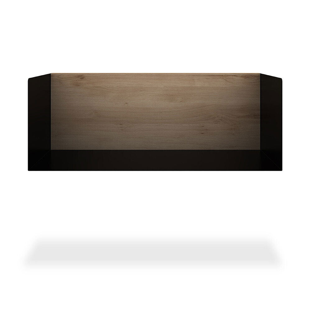Oak U Shelf - M - Black - Hausful - Modern Furniture, Lighting, Rugs and Accessories