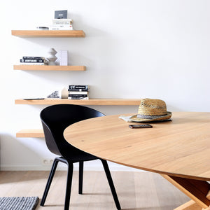 Oak Wall Shelf - Hausful - Modern Furniture, Lighting, Rugs and Accessories