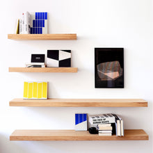 Load image into Gallery viewer, Oak Wall Shelf - Hausful - Modern Furniture, Lighting, Rugs and Accessories