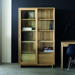 Oak Wave Storage Cupboard - Hausful - Modern Furniture, Lighting, Rugs and Accessories