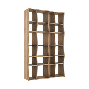 "Oak Z Rack - 49"" - Hausful - Modern Furniture, Lighting, Rugs and Accessories"