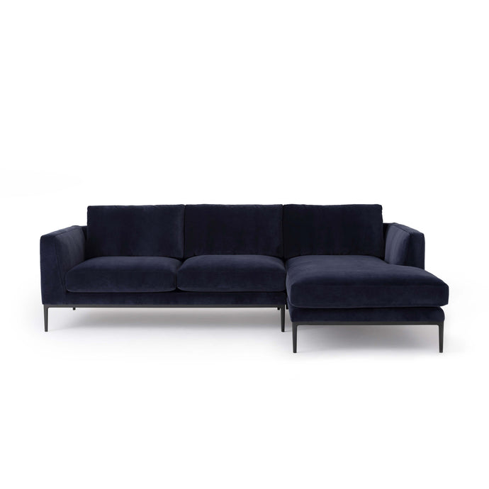 Oma 2-Piece Sectional Sofa with Chaise - Hausful - Modern Furniture, Lighting, Rugs and Accessories