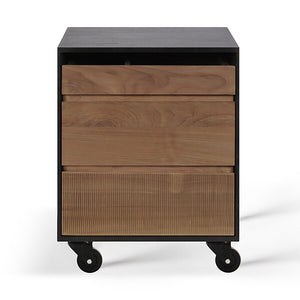 Oscar Teak Drawer Unit - Hausful - Modern Furniture, Lighting, Rugs and Accessories