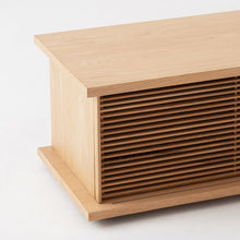 "Load image into Gallery viewer, Plank 83"" Low Slat Media Unit - Hausful - Modern Furniture, Lighting, Rugs and Accessories"