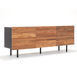 Reclaimed Teak Low Dresser - Hausful - Modern Furniture, Lighting, Rugs and Accessories