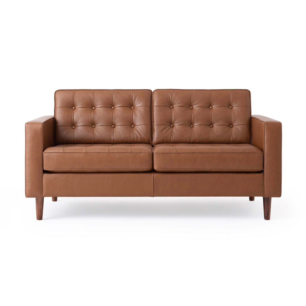 Reverie Loveseat - Leather - Hausful - Modern Furniture, Lighting, Rugs and Accessories