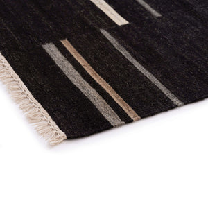 Nomad Rug - Black - Hausful - Modern Furniture, Lighting, Rugs and Accessories