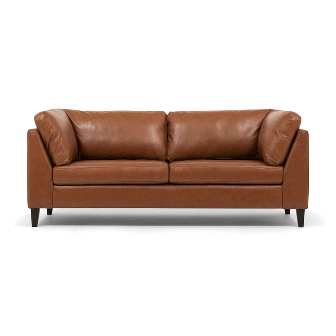Salema Apartment Sofa - Leather - Hausful - Modern Furniture, Lighting, Rugs and Accessories