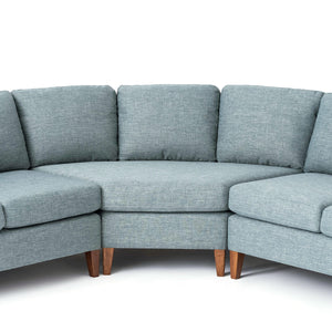 Salema Sectional Sofa - with Extended Corner - Hausful - Modern Furniture, Lighting, Rugs and Accessories