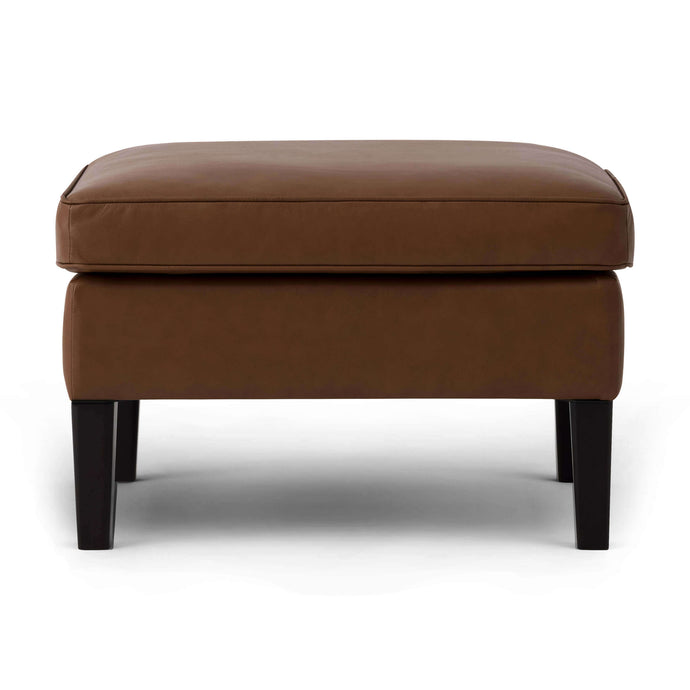 Skye Ottoman - Leather - Hausful - Modern Furniture, Lighting, Rugs and Accessories