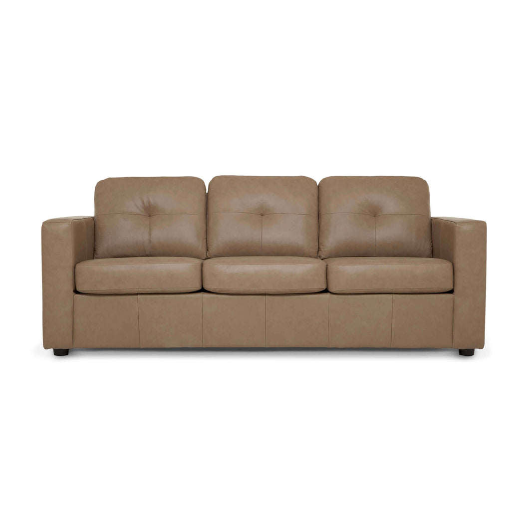 Solo Sofa Sleeper - Leather - Hausful - Modern Furniture, Lighting, Rugs and Accessories