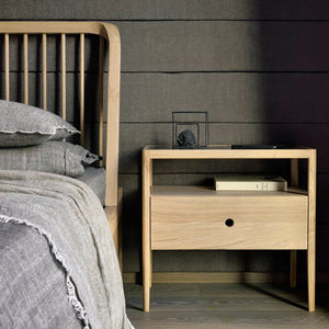 Spindle Bed - Hausful - Modern Furniture, Lighting, Rugs and Accessories