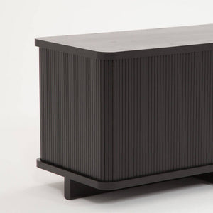 "Tambour Credenza - 86"" - Hausful - Modern Furniture, Lighting, Rugs and Accessories"