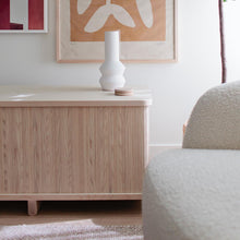 "Load image into Gallery viewer, Tambour Credenza - 62"" - Hausful - Modern Furniture, Lighting, Rugs and Accessories"