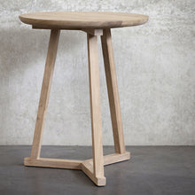 Load image into Gallery viewer, Oak Tripod Side Table - Hausful - Modern Furniture, Lighting, Rugs and Accessories