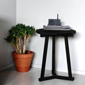 Oak Tripod Side Table - Hausful - Modern Furniture, Lighting, Rugs and Accessories