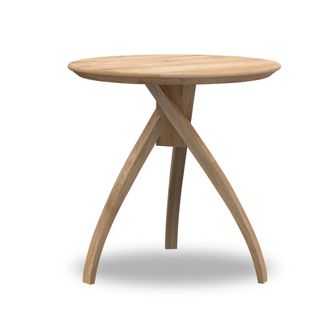 Oak Twist Side Table - Hausful - Modern Furniture, Lighting, Rugs and Accessories