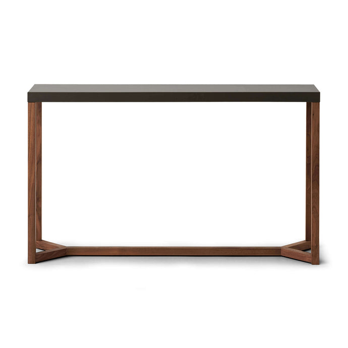 Trivia Console Table - Walnut - Hausful - Modern Furniture, Lighting, Rugs and Accessories