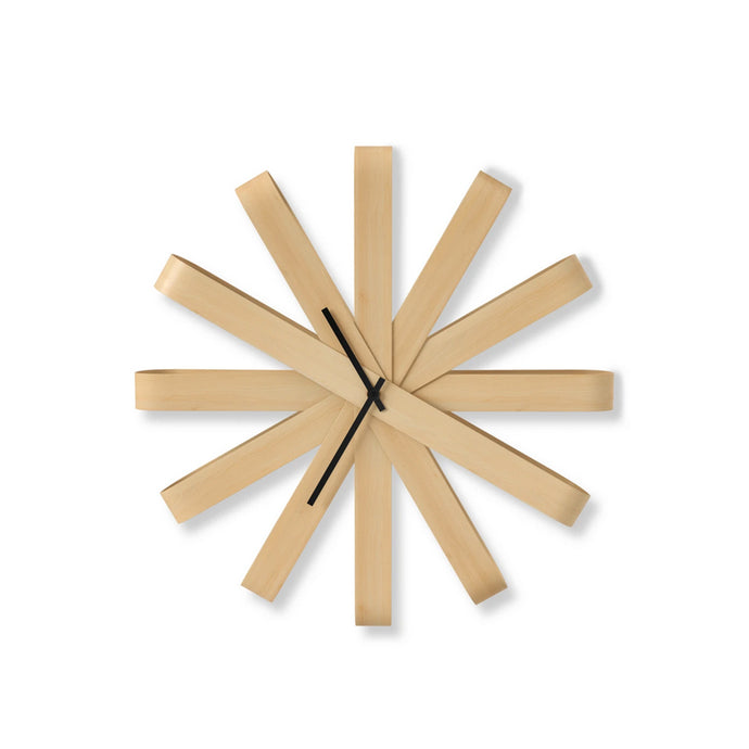 Ribbon Wall Clock - Hausful - Modern Furniture, Lighting, Rugs and Accessories