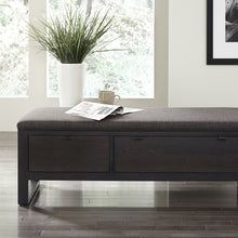Load image into Gallery viewer, Fulton Upholstered Bench - Hausful - Modern Furniture, Lighting, Rugs and Accessories