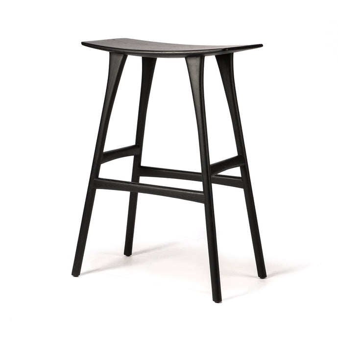 Oak Osso Bar Stool - Hausful - Modern Furniture, Lighting, Rugs and Accessories