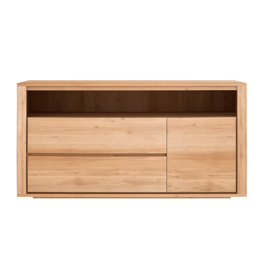 Oak Shadow Chest of Drawers - Hausful - Modern Furniture, Lighting, Rugs and Accessories