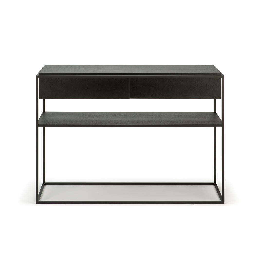 Oak Monolit Console - Black Oak - Hausful - Modern Furniture, Lighting, Rugs and Accessories
