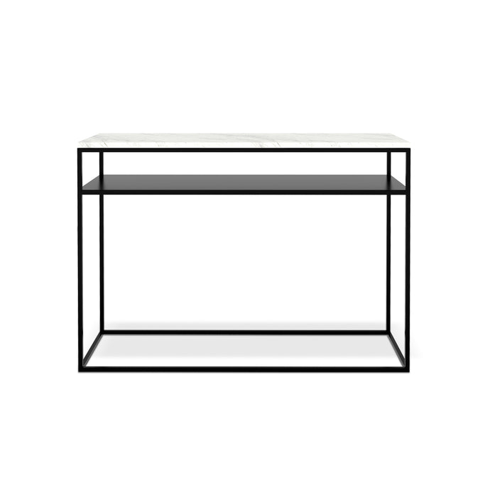 White Marble Stone Console - Hausful - Modern Furniture, Lighting, Rugs and Accessories